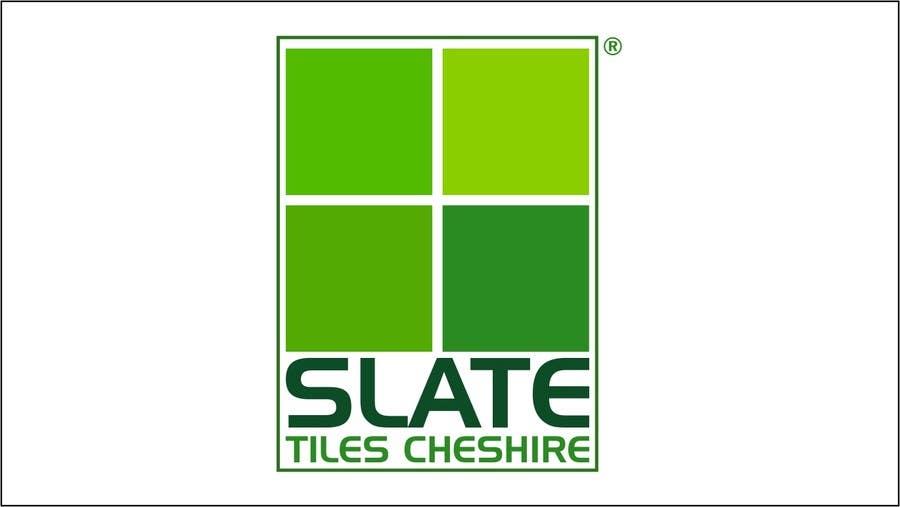 Penyertaan Peraduan #38 untuk Design a Logo for Slate Tiles Cheshire