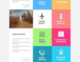 Nro 10 kilpailuun Design Homepage or Landing page (simple, just need a good idea) käyttäjältä saepulgranz