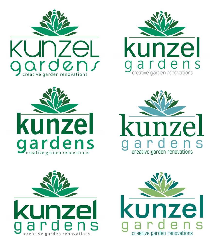 Inscrição nº 77 do Concurso para Design a Logo for Kunzel Gardens