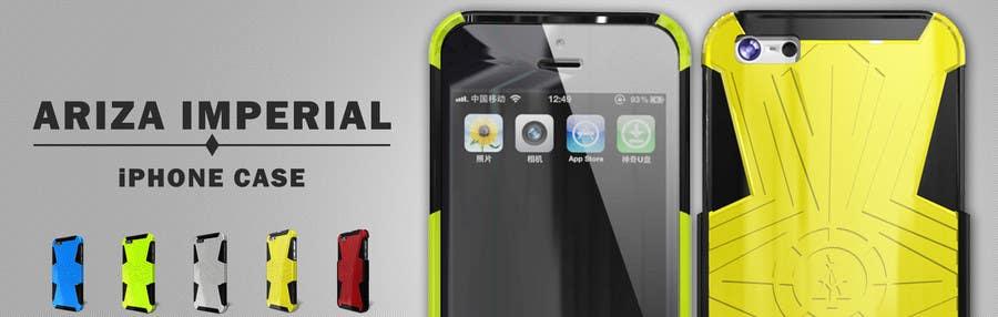 #2 for Design a Banner for Mobile Case Website by patlau