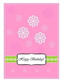 #17 for Design some Stationery for Adult Birthday card by primavaradin07