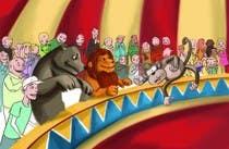 Illustration Design for Childrens Book - Circus Scene için Graphic Design16 No.lu Yarışma Girdisi