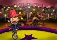 Graphic Design Contest Entry #21 for Illustration Design for Childrens Book - Circus Scene