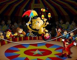 #22 untuk Illustration Design for Childrens Book - Circus Scene oleh jacklooser