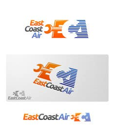 #598 for Design a Logo for East Coast Air conditioning & refrigeratiom by HallidayBooks