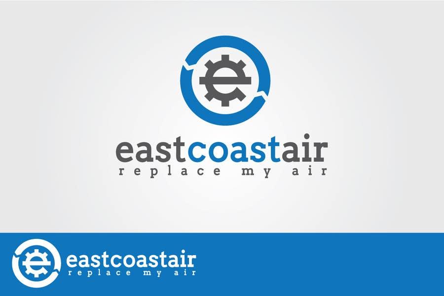 Kilpailutyö #722 kilpailussa Design a Logo for East Coast Air conditioning & refrigeratiom