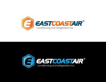 #190 for Design a Logo for East Coast Air conditioning & refrigeratiom by paxslg