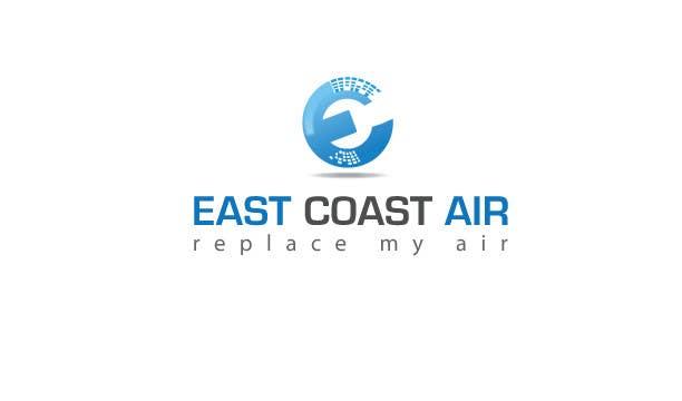 #787 for Design a Logo for East Coast Air conditioning & refrigeratiom by risonsm