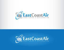 #68 para Design a Logo for East Coast Air conditioning & refrigeratiom por GeorgeOrf