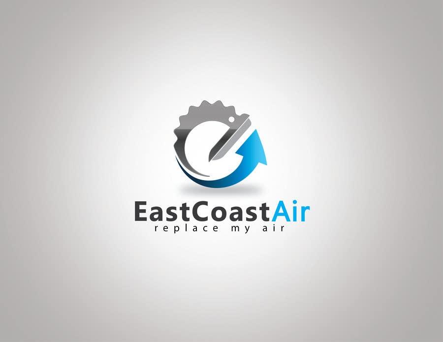 Kilpailutyö #553 kilpailussa Design a Logo for East Coast Air conditioning & refrigeratiom