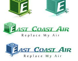 #222 para Design a Logo for East Coast Air conditioning & refrigeratiom por tobagganski343