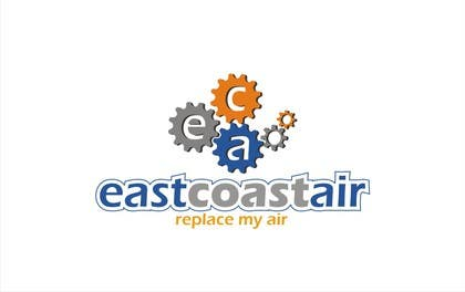 #496 for Design a Logo for East Coast Air conditioning & refrigeratiom by saryanulik