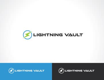#3 para Design a Logo for LightningVault por paxslg
