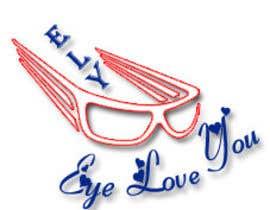 Nro 32 kilpailuun Logo Design For EyeWear Brand (EYELOVEYOU+ELY) käyttäjältä garima0813