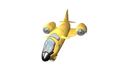 #4 for Do some 3D Modelling for Heavy Star Fighter by cpyton
