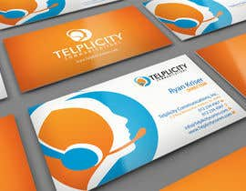 midget tarafından Design some Business Cards for Telplicity Communications, Inc. için no 10