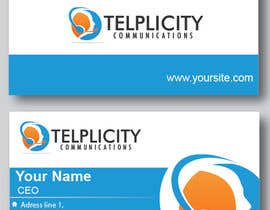 StaBV tarafından Design some Business Cards for Telplicity Communications, Inc. için no 17