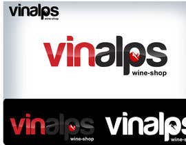 #268 for Logo Design for VinAlps af Clarify