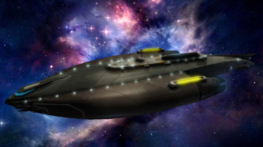 #7 for Do some 3D Modelling for Sci-fi video Game Stealth ship by Hedgecog