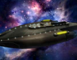 #7 untuk Do some 3D Modelling for Sci-fi video Game Stealth ship oleh Hedgecog