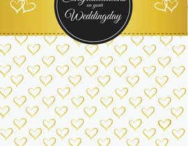 #25 for Design some Stationery for a Wedding Congratulations Card af pankaj86