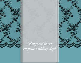 #5 para Design some Stationery for a Wedding Congratulations Card por luciacrin