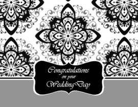 #8 para Design some Stationery for a Wedding Congratulations Card por luciacrin