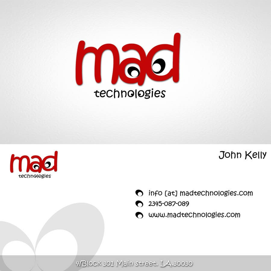 #10 for Design a Creative Logo for Our Company Mad Technologies by niravbhavsar289