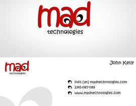 nº 10 pour Design a Creative Logo for Our Company Mad Technologies par niravbhavsar289