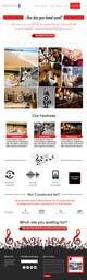 Imej kecil Penyertaan Peraduan #4 untuk Improve the Design of a wordpress theme for a Music Website