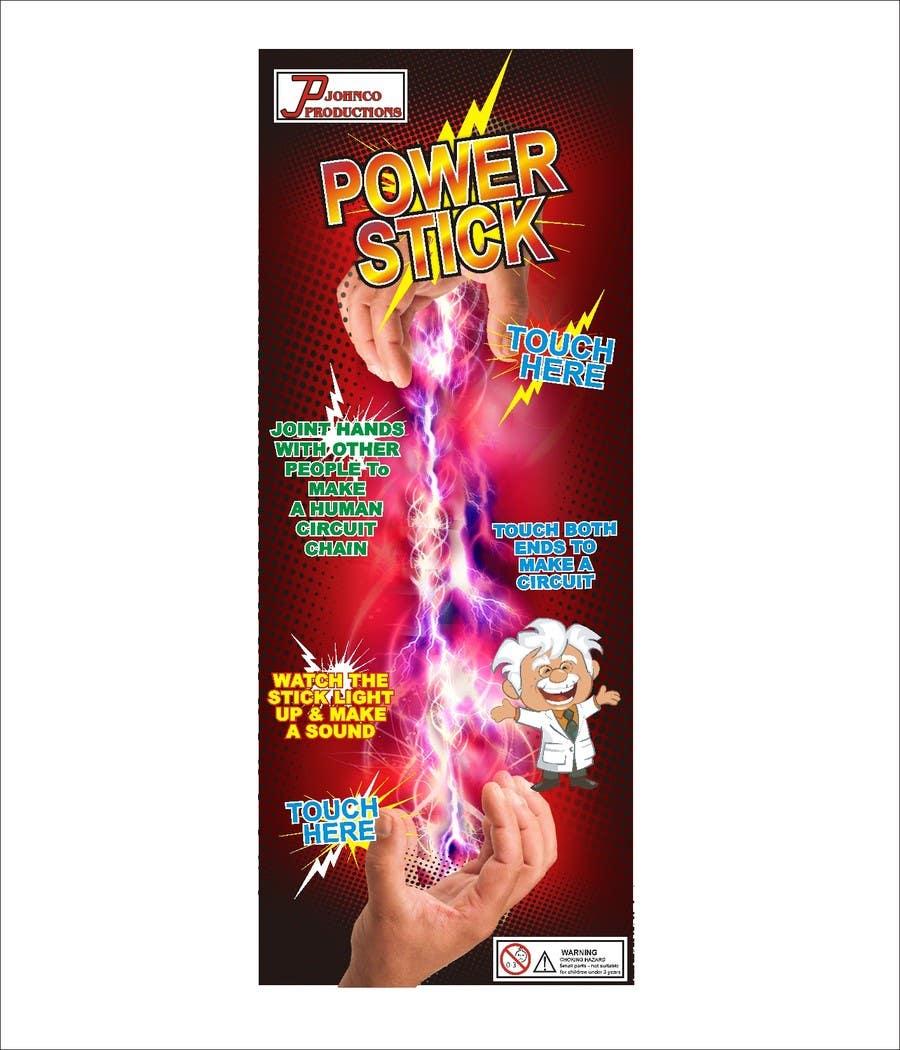 Kilpailutyö #19 kilpailussa Power Stick Packaging