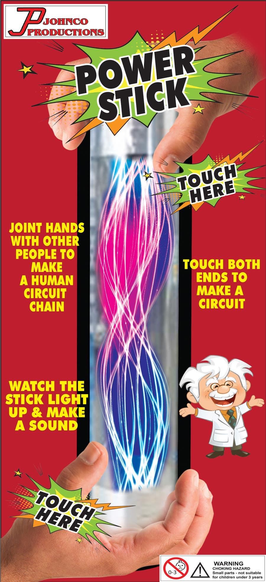 Kilpailutyö #11 kilpailussa Power Stick Packaging