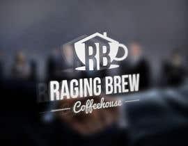 Nro 33 kilpailuun Design a Logo for Raging Brew Coffeehouse käyttäjältä LogoRocket