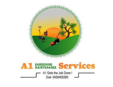 #80 for Design a Logo for a gardening & maintenance business by jonydep