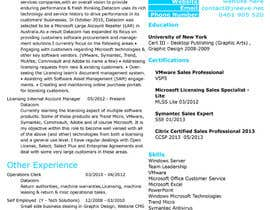 #7 for Resume Creation - Design Requirement af raj1523