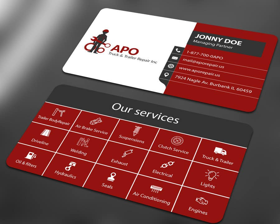 Entry #34 by ALLHAJJ17 for Design a Logo and Business Cards for ...