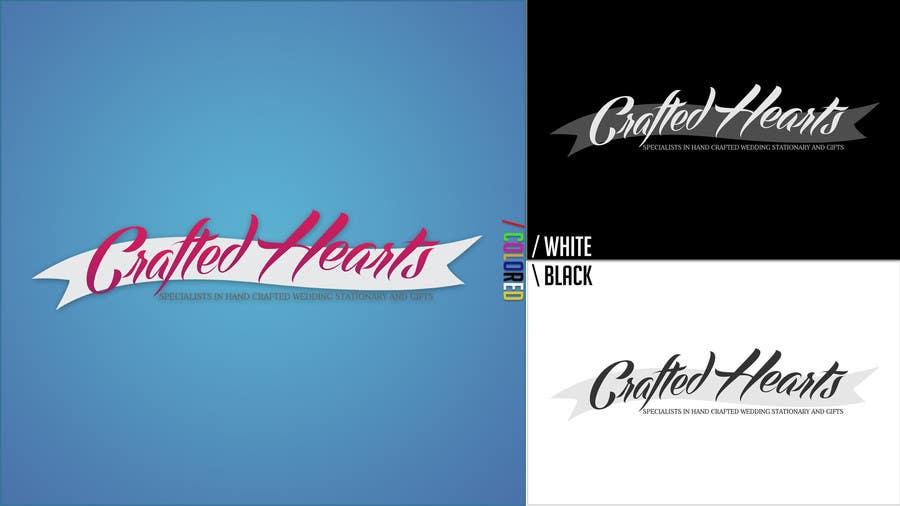 Bài tham dự cuộc thi #15 cho Design a Logo for Crafted Hearts