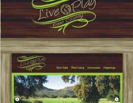 #113 para Live and Play East County           / logo design for website por lastmimzy