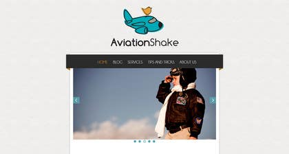 Graphic Design Contest Entry #13 for Create a Wordpress Site for AviationShake.com