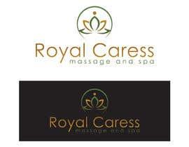 hingrajiyajevin1 tarafından Logo design for Royal Caress Massage and Spa için no 19