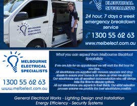 #7 para Graphic Design for Melbourne Electrical Specialists por lihia
