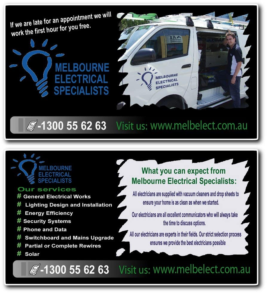 Contest Entry #                                        33                                      for                                         Graphic Design for Melbourne Electrical Specialists