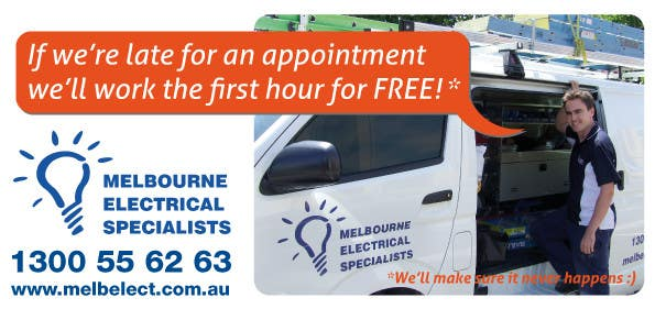 Contest Entry #                                        2                                      for                                         Graphic Design for Melbourne Electrical Specialists