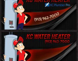#15 for Design a Banner for KC Water Heater af bannersworld
