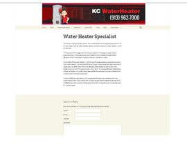 #14 for Design a Banner for KC Water Heater by dirak696