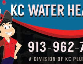 #17 for Design a Banner for KC Water Heater af noninoey