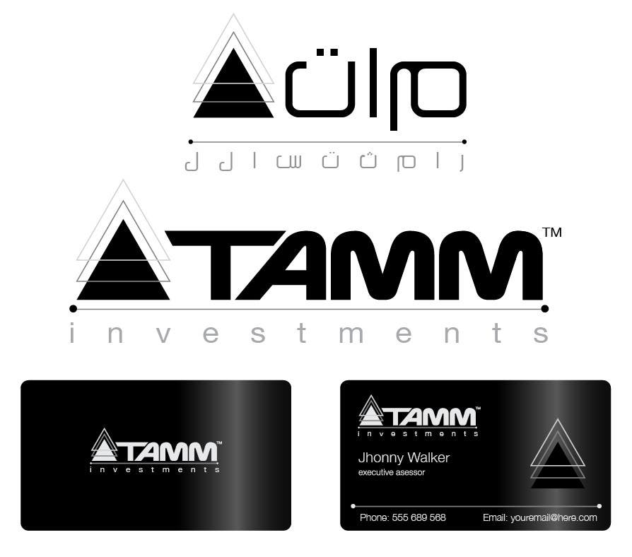 #53 for Design a Logo for TAMM Investments by marcelog4