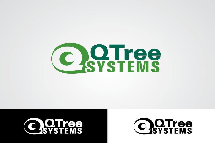 Bài tham dự cuộc thi #                                        649                                      cho                                         Logo Design for QTree Systems