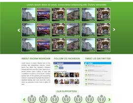 #16 cho Design for website front page bởi atularora