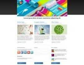 #2 for Design for website front page by makeit1933